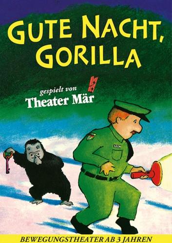 Gute Nacht Gorilla Plakat
