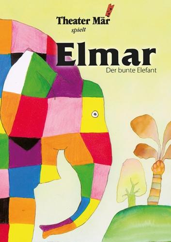 Elmar, der bunte Elefant Plakat