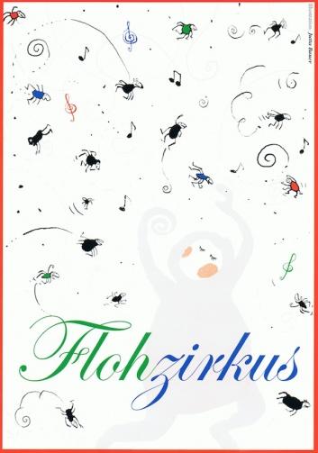 Plakat zum Theaterstück Flohzirkus